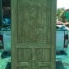 ประตูไม้สักบานเดี่ยว เกรด A, B รหัส AA190