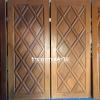 ประตูไม้สักบานคู่ เกรดA ,B+ รหัสBB28