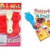 Desserts & Fruit Mold: ชุดแม่พิมพ์ ขนมหวานและผลไม้รวม
