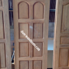 ประตูไม้สักบานเดี่ยว 8 ฟัก เกรดA รหัส AA193
