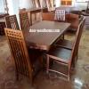 โต๊ะเก้าอี้ไม้สัก ชุด6ชิ้น