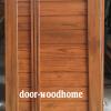ประตูไม้สักบานเดี่ยว เกรด A B รหัส199