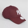 หมวก NEW ERA 9Forty woman Cap NY สีแดง เบอร์รี่
