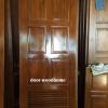 ประตูไม้สักบานเดี่ยว 6ฟักเกร็ด เกรดA รหัส AA196