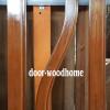 ประตูไม้สักบานเดี่ยว เกรดA รหัส AA195