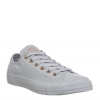 Converse All Star Low Leather Wolf Grey Blush Gold Exclusive