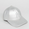 New Era Metallic 9Forty Cap in Silver