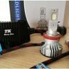 F2 หลอดไฟหน้า LED ขั้ว H11 - LED Headlight Cree XD14 chip 12000 lm