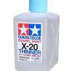 TAMIYA X-20 ENAMEL THINNER 250ML
