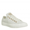 Converse All Star Low Leather Pastel Rose Tan Rose Gold Exclusive