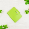 M card Nature Button Green