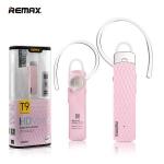 หูฟัง บลูทูธ Remax HD Voice RB-T9 สีชมพู