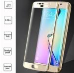 ฟิล์มกระจก Samsung Galaxy S7 Edge เต็มจอ สีทอง