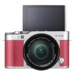 Fujifilm X-A3 + Lens 16-50 mm OIS II (Pink)