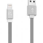 สายชาร์จ iPhone 5/6/7 Hoco UPL18 2m สีขาว