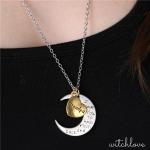 สร้อย I Love You To The Moon & Back จันทร์เสี้ยว