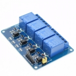 Relay 4 Channel DC 5V Optocoupler Low Level Trigger