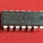 TDA16846-2 P TDA16846 P TDA16846 ทีวีไดสตาร์ PWM