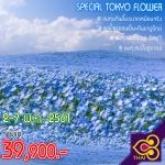 JGC SPETOKFLOWER ทัวร์ ญี่ปุ่น SPECIAL TOKYO FLOWER โตเกียว ฟูจิ ฮาโกเน่ ชมทุ่งดอกไม้ 6 วัน3 คืน บิน TG