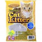 Catty Cat ทรายอนามัยสำหรับแมว กลิ่น Lemon ถุงละ 10 ลิตร จำหน่าย 2 ถุง / แพค