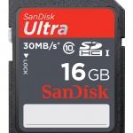 Sandisk ultra16 GB Class10
