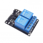 Relay 2 Channel DC 5V Optocoupler Low Level Trigger