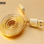 สายชาร์จ Micro REMAX GOLD Series RM-217m 1m สีทอง