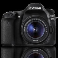 Canon EOS 80D + Lens 18-55mm IS STM