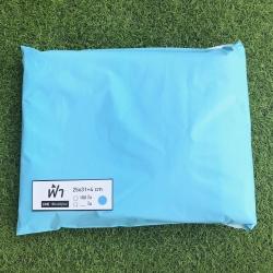 แพค 100 ใบ ซองไปรษณีย์พลาสติก สีฟ้าพาสเทล ขนาด 25x31+4 cm เกรด A (ขนาดเท่า A4)
