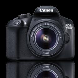 Canon EOS 1300D + Lens 18-55 IS III