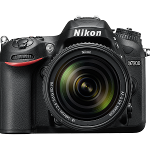 Nikon D7200 Lens 18-140 VR