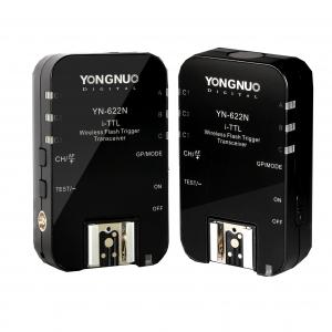YONGNUO YN-622 NIKON ETTL FLASH TRIGGER - Black