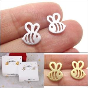 ต่างหูผึ้ง Bee Earrings