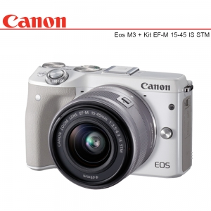 Canon EOS M3 + Lens EF-M 15-45mm IS STM