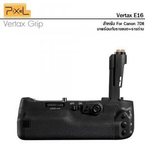แบตเตอร์รี่กริป Pixel Vertax E16 for Canon 7D Mark II