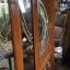 ประตูไม้สักกระจกนิรภัย เกรดA รหัส A106 thumbnail 2