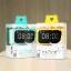 นาฬิกาปลุก REMAX RMC-05 4USB สีเขียวพาสเทล thumbnail 6