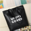 GrabMeNow Tote Bag UNDER COVER (Black) thumbnail 1
