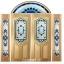 กระจกนิรภัยสเตนกลาส สีน้ำเงิน ชุด5ชิ้น รหัส G22 thumbnail 1