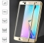 ฟิล์มกระจก Samsung Galaxy S7 Edge เต็มจอ สีทอง thumbnail 1