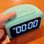 นาฬิกาปลุก REMAX RMC-05 4USB สีเขียวพาสเทล thumbnail 2