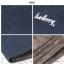 กระเป๋าสตางค์ใบสั้น แนวตั้ง กระเป๋าสตางค์ผู้ชาย ผ้าแคนวาส สีน้ำตาล thumbnail 5