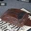 AD5B กระเป๋าสะพายไหล่ กระเป๋าคาดอก หนัง Crazy Horse PU สีน้ำตาลกาแฟ thumbnail 9