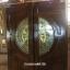 ประตูไม้สักกระจกนิรภัย บานเลื่อน ชุด 7ชิ้น เกรด A รหัส AAA61
