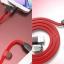 สายชาร์จ 2 in 1 Remax แท้ 100 % Micro USB & iPhone 5/6 สีแดง thumbnail 1
