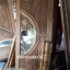 ประตูไม้สักกระจกนิรภัย แกะมังกรหงส์ เกรดA รหัส AA28