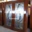 ประตูไม้สักกระจกนิรภัย เต็มบาน เกรดA รหัส A103 thumbnail 2