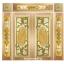 กระจกนิรภัยสเตนกลาส สีทอง ชุด7ชิ้น รหัส G15 thumbnail 1