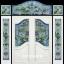 กระจกนิรภัยสเตนกลาสปีกนก ชุด 7ชิ้น รหัส G37 thumbnail 1