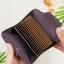 M Ven Card Button Dark Brown thumbnail 3